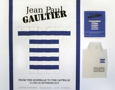 Jean Paul Gaultier exhibition Stockholm