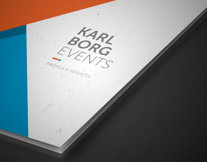 Karl Borg Events | Rebranding