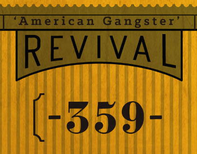 Revival Beer -  Gangster Series.