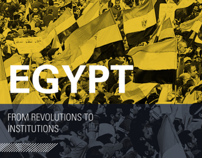 Egypt: From Revolutions to Institutions Publication