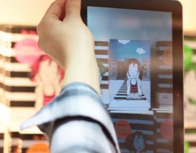 Mobile Augmented Reality Kapelusz