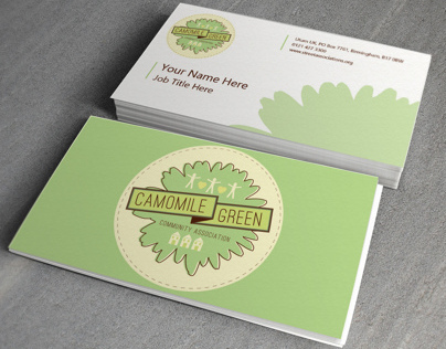 Camomile Green - Branding Project