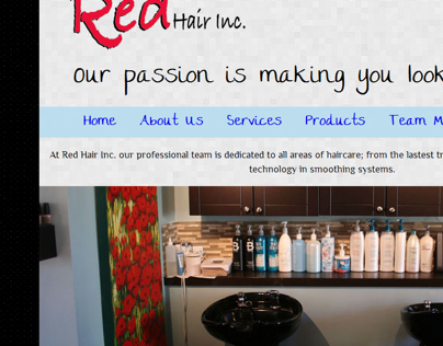 Redesigning Red Hair Inc.
