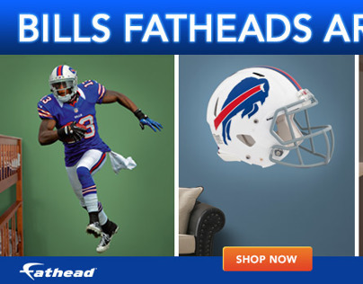 Fathead Shop the Bills web banner