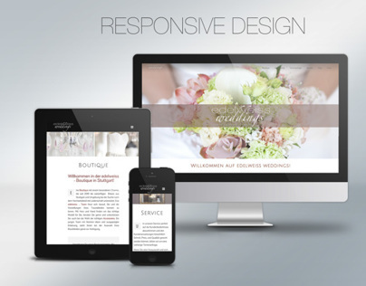 edelweiss weddings - New Webdesign
