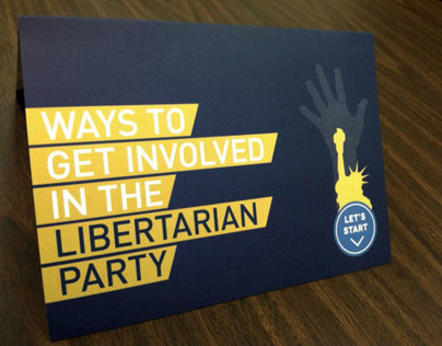 Libertarian Party Handout Card