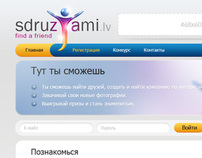 Sdruzjami - Social Website Design
