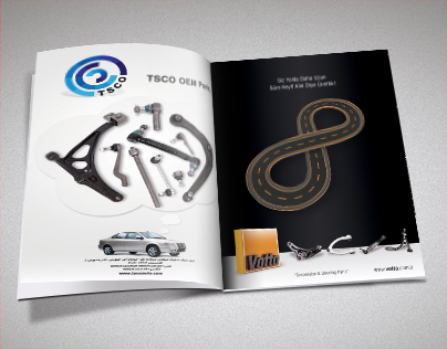 Automotive Spare Parts Magazine Ads