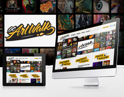 OC Artwalk Website