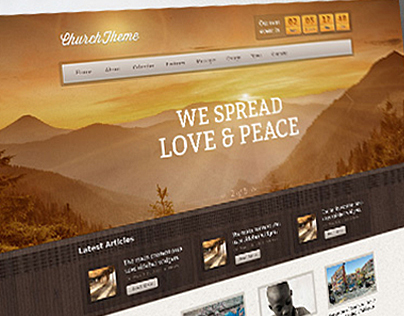 Church WordPress Premium Theme