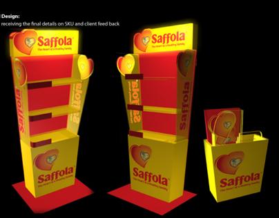POP/Exhibition Solution: Saffola 2010
