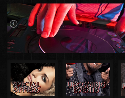 Club 101 - Website Design