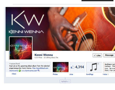 Kenni Wenna - Website & Branding