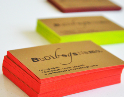 """Budibogsnama"" business cards"