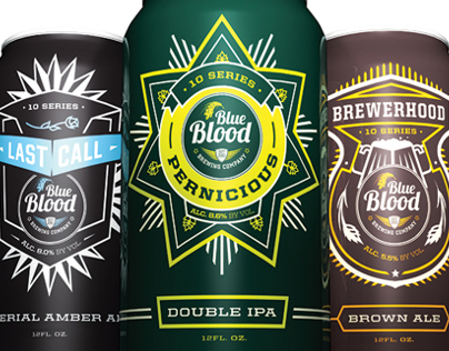 Blue Blood Brewing Collateral