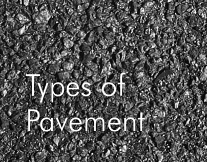 Types of Pavement