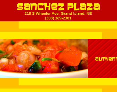 Sanchez Plaza Ad Design