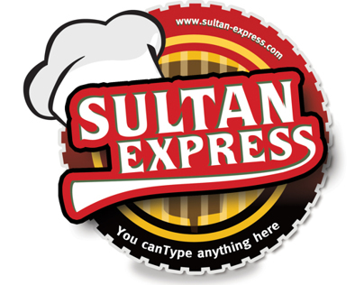 Sultan Express Logo Designs
