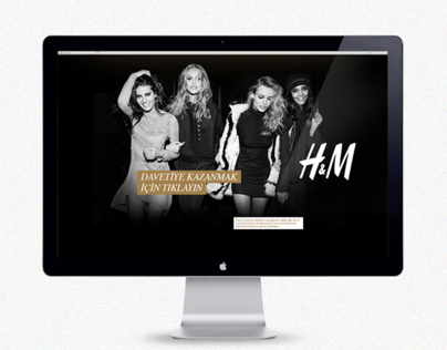 H&M micro website