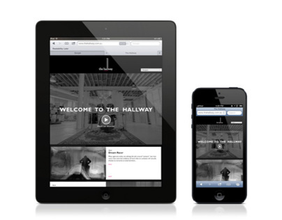 The Hallway website