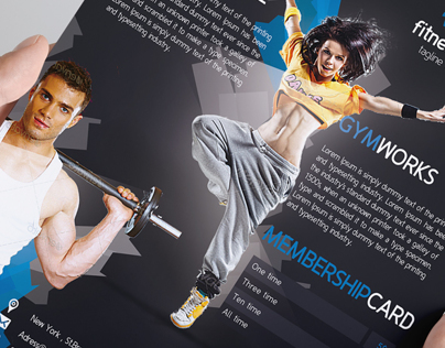 Fitness Gym Flyer #2