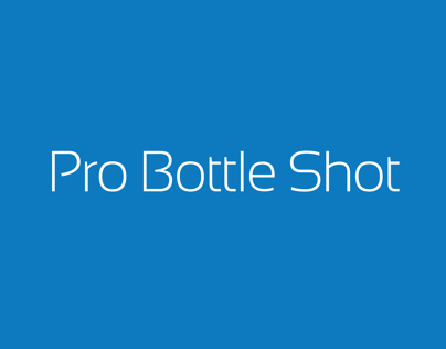 Pro Bottle Shot Logo
