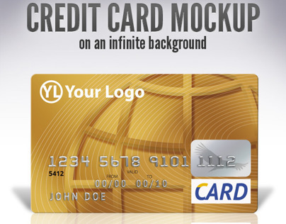 Credit Card Mock-Up