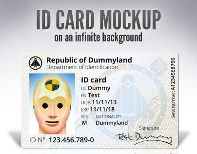 ID Card - Mock up
