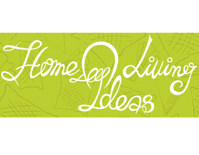 Home Living Ideas - logo and banner commission