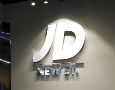JD Birmingham New St In-Store Graphics & Signage