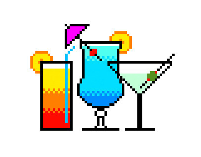 Pixel Cocktails