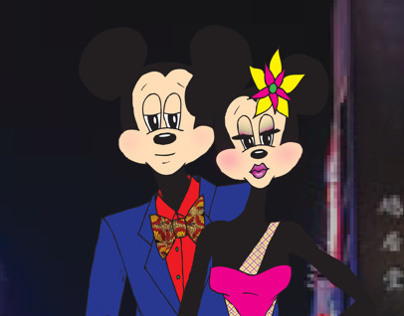 Mickey and Minnie Date Night