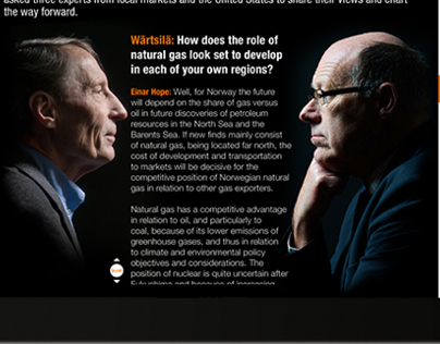 Wärtsilä annual report review for iPad