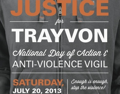 Justice for Trayvon Rally