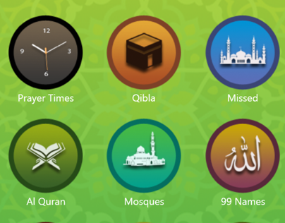 Windows Phone App : Muslim All in 1