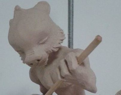 Clay sculpting - soft