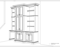 traditional wall unit - private residence
