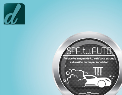Spa tu auto logotype