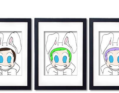 Pop Art Bunnies