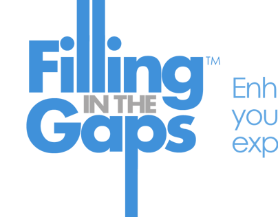Filling in the Gaps Blog logo design