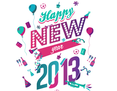 Illustration Happy New Year 2013 - SPECS Indonesia