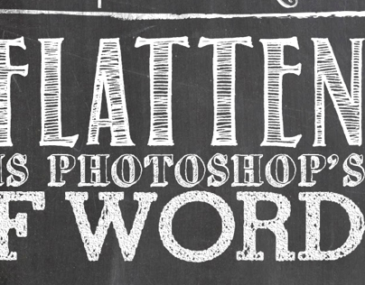 Photoshop words to live by, #9