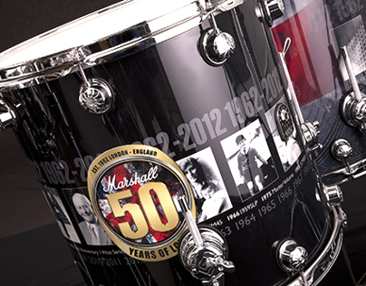 marshall 50th anniversary graphic wrap