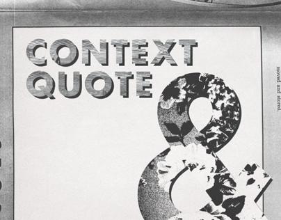 Context Quote Album Artwork