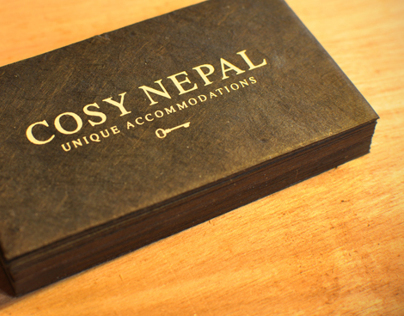 Digital/Print design - Cosy Nepal