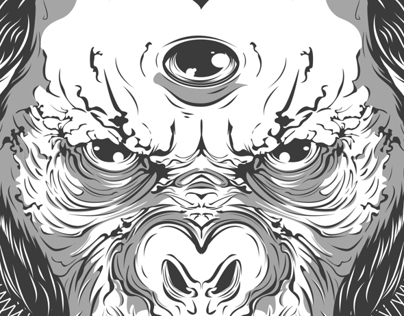 Three Eyed Chimp - Illustration 2013