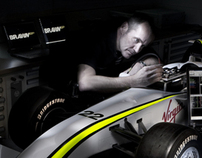 Brawn GP F1 wind tunnel project