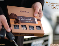 Thorntons chocolate catalogue shoot location & studio