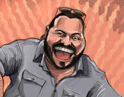 Nick Caricature