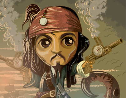 Jack Sparrow Captain